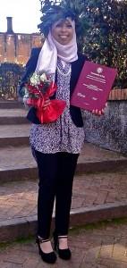 Laurea di Mariam, 2015