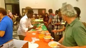cena multietnica, 21 giugno 2017